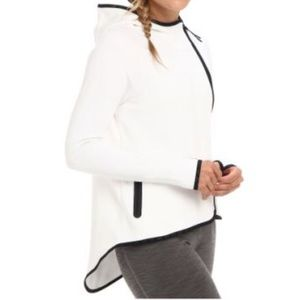 Nike White Tech Fleece Cape